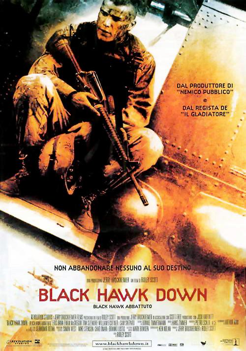 """""""Black Hawk Down"""": un saggio bellico sulla guerra moderna"""