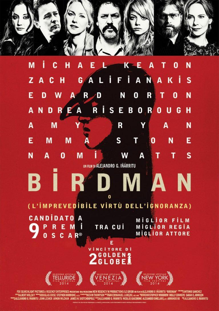 """Birdman"": i voli pindarici sul viale del tramonto"