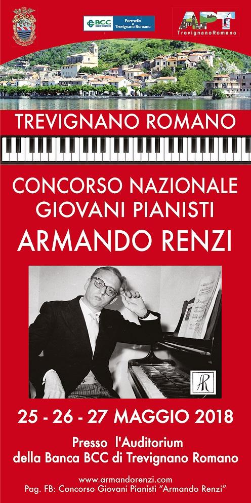 """Concorso Nazionale Giovani Pianisti """"ARMANDO RENZI"""""""