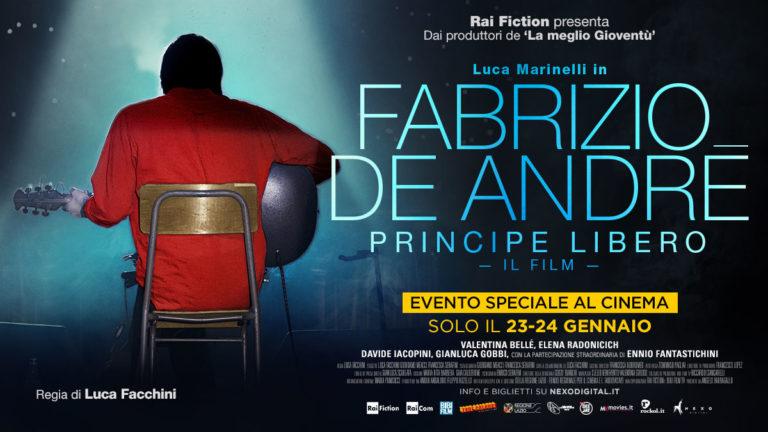 FABRIZIO DE ANDRÉ. PRINCIPE LIBERO. Evento speciale al cinema il 23 e 24 gennaio 2018