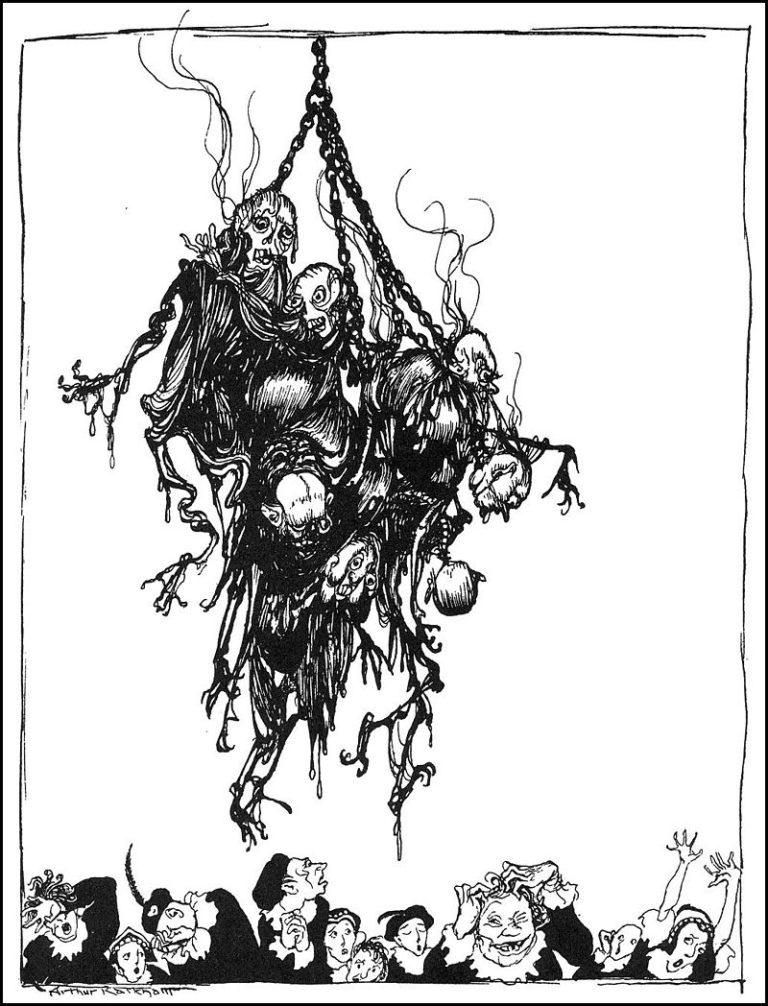 HOP-FROG – Racconto di Edgar Allan Poe