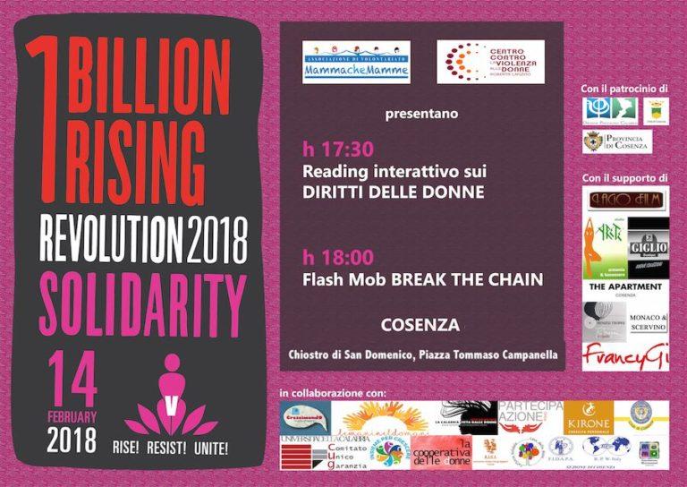 One Billion Rising 2018 – Cosenza danza contro la violenza