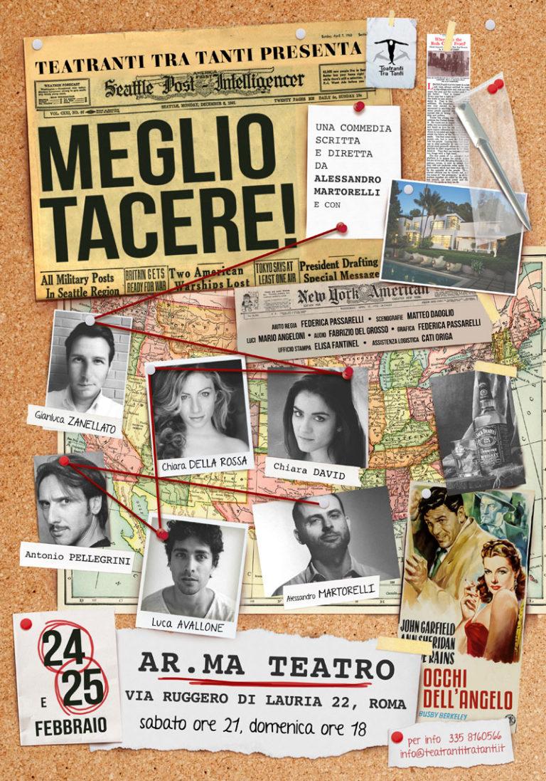 MEGLIO TACERE