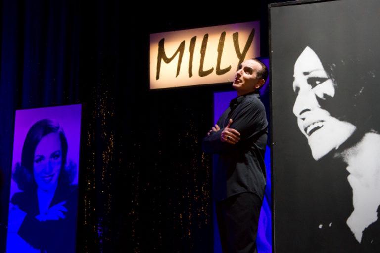 IL MIO NOME È MILLY. Una diva, tra guerre, prìncipi, pop e variété. Recital in due tempi di e con Gennaro Cannavacciuolo