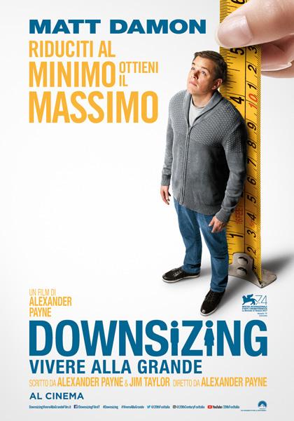 """""""Downsizing – Vivere alla grande"""": l'evoluzione (in scala ridotta) dell'umanità"""
