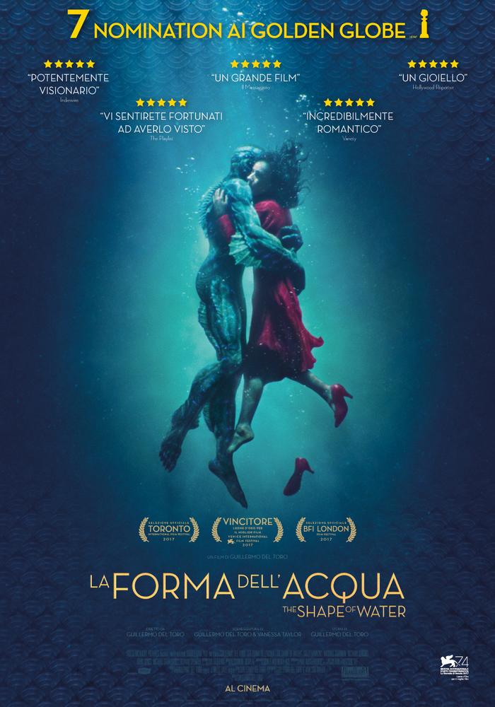 """""""La forma dell'acqua"""": una emozionante (e profonda) fiaba sull'universalità dell'amore"""
