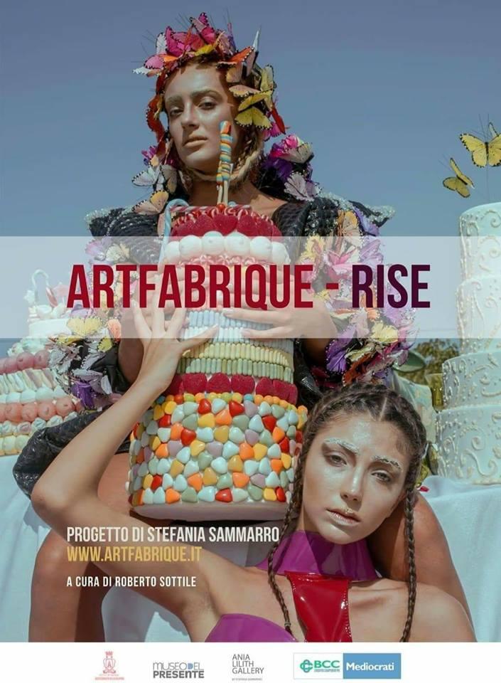Rende | Tutto pronto per l'evento finale di Art Fabrique – mostra RISE (Sollevati) dell'artista Stefania Sammarro a cura di Roberto Sottile