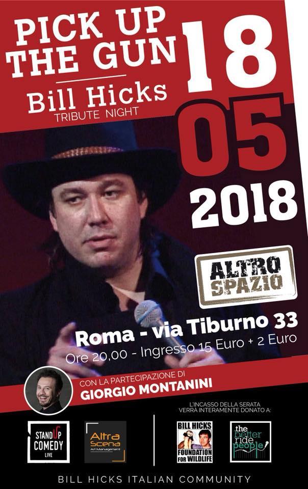 Pick up the gun – Bill Hicks tribute night