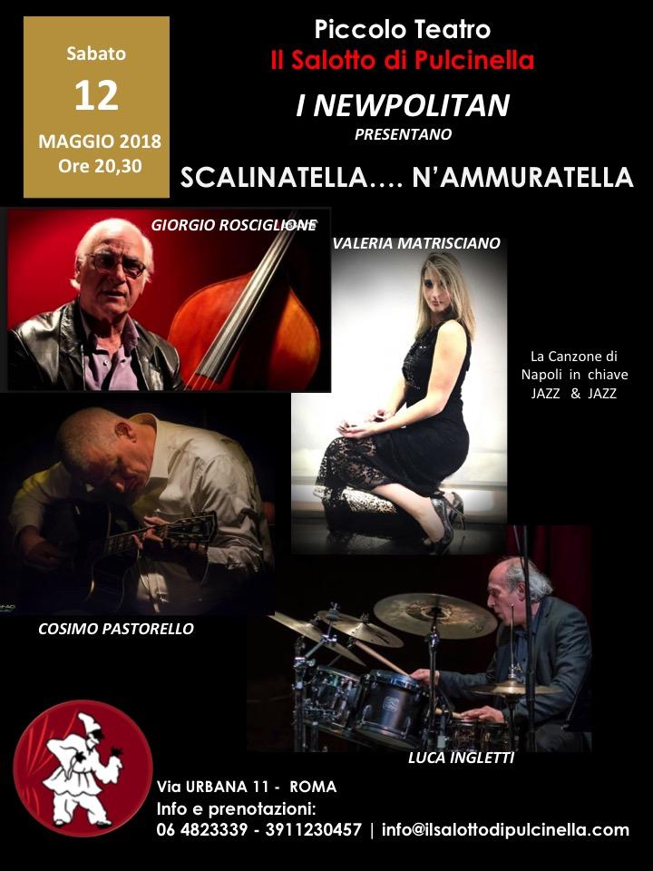 I Newpolitan in scena con Scalinatella… N'ammuratella