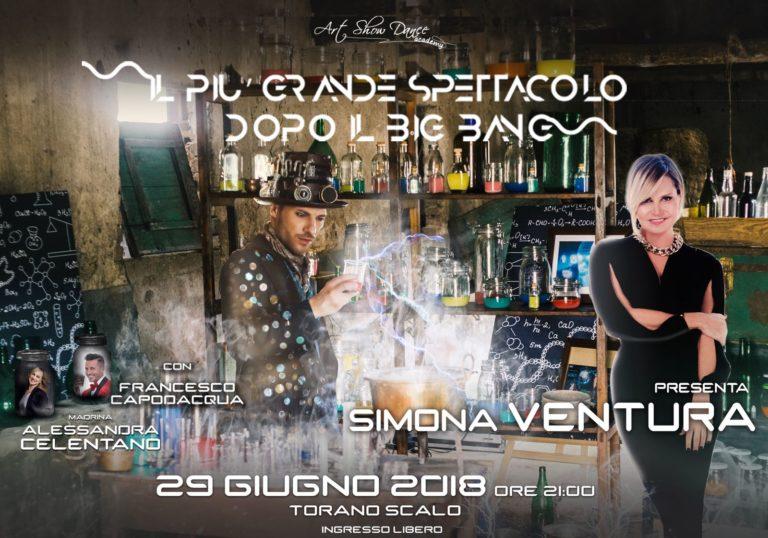 """Ci siamo! Domani """"Il più grande spettacolo dopo il big bang"""" condotto da Simona Ventura"""