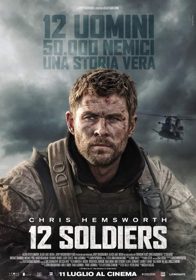 """""""12 Soldiers"""": chi combatte con il cuore è capace di vincere la battaglia"""
