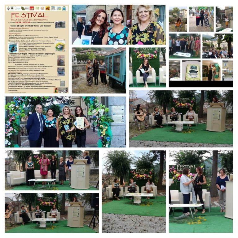29/07/18 Festival della Cultura – Lagonegro (Basilicata).