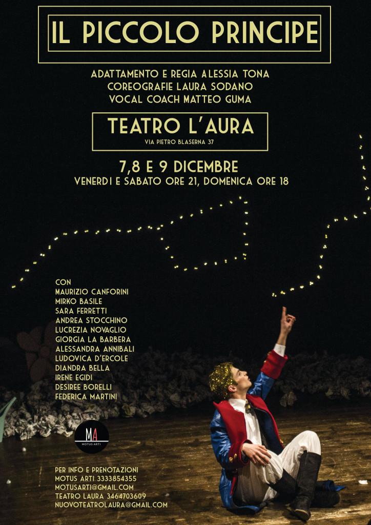 CineTeatro L'Aura- IL PICCOLO PRINCIPE -dal 7 al 9 dicembre 2018