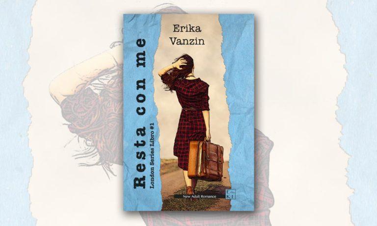 """La scrittrice Erika Vanzin ha pubblicato """"Resta con me"""""""
