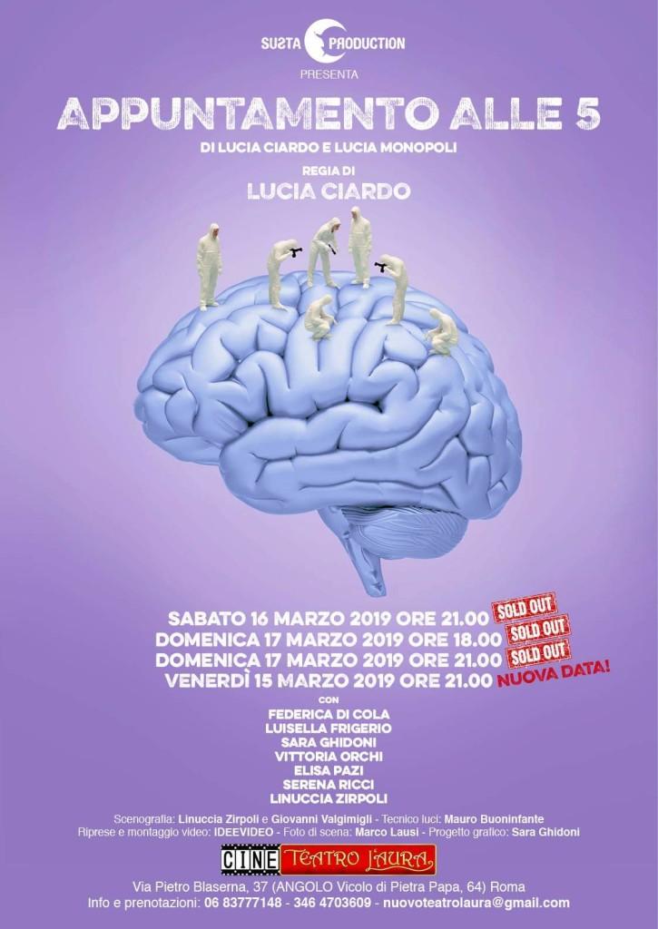CineTeatro L'Aura – APPUNTAMENTO ALLE 5 – dal 15 al 17 marzo 2019