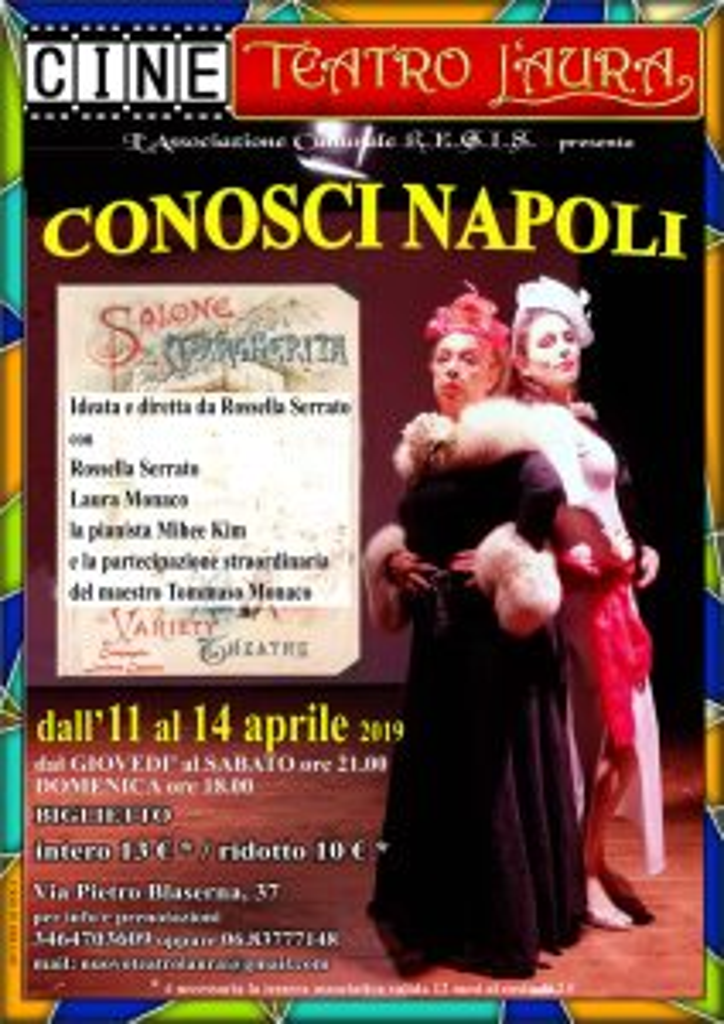 CONOSCI NAPOLI – dall'11 al 14 aprile