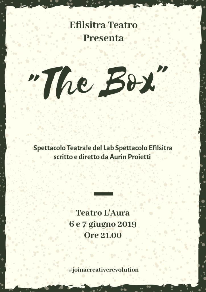 THE BOX – 6 e 7 giugno 2019