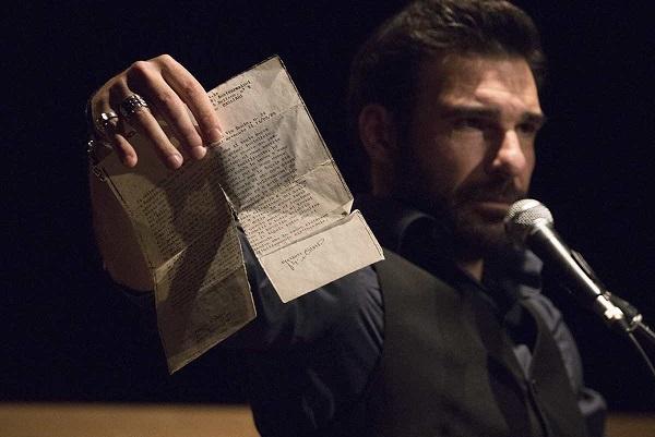 Al Teatro Romano di Ostia Antica, EDOARDO LEO in TI RACCONTO UNA STORIA (letture semiserie e tragicomiche)