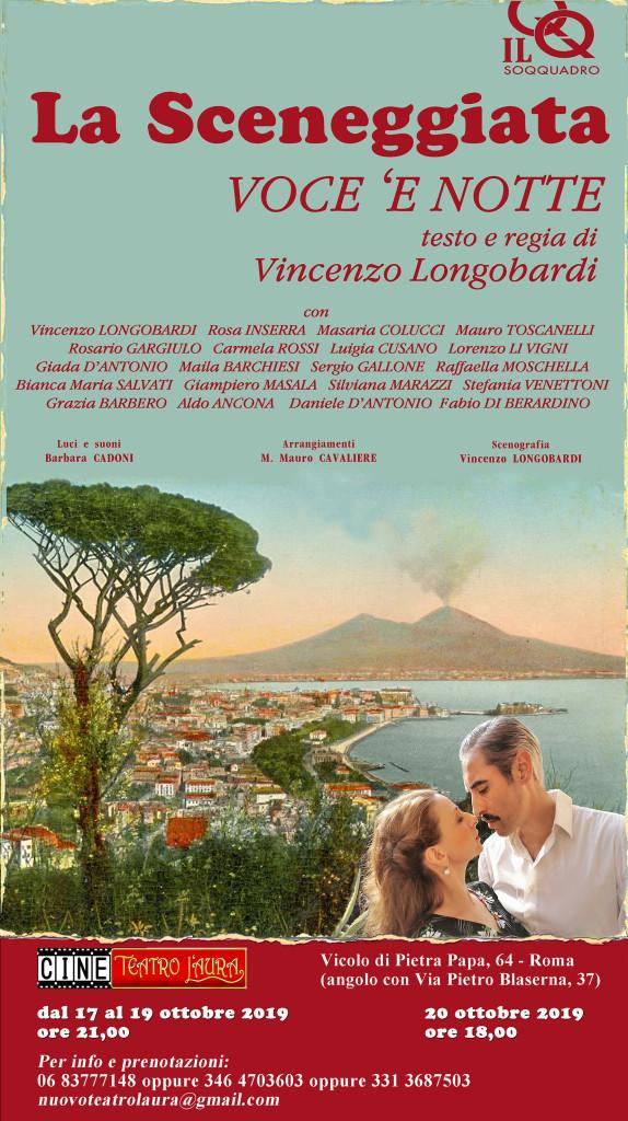 CineTeatro L'Aura – VOCE 'E NOTTE – dal 17 al 20 ottobre 2019