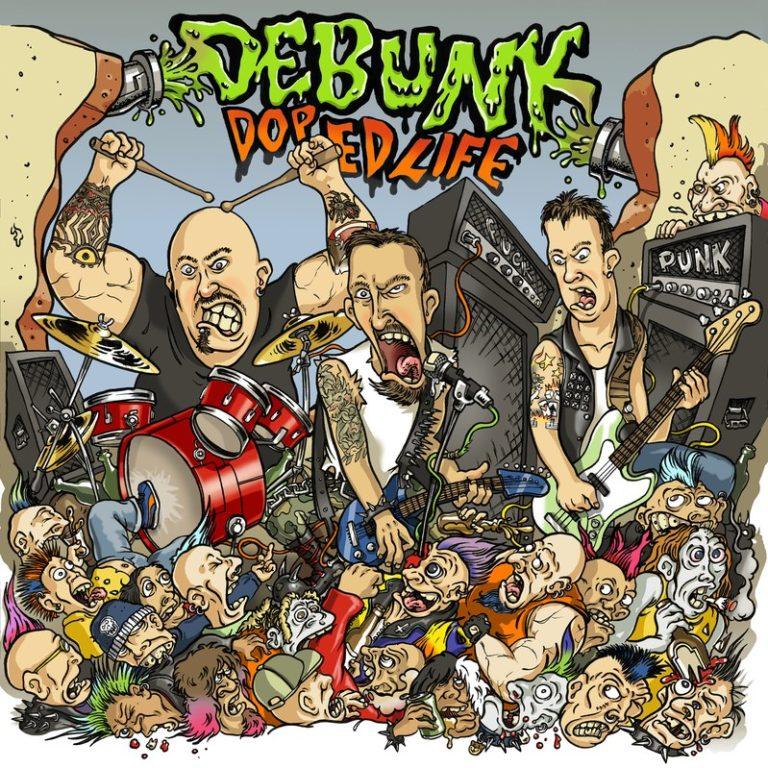 """Debunk – E' uscito il nuovo LP """"Doped Life"""""""