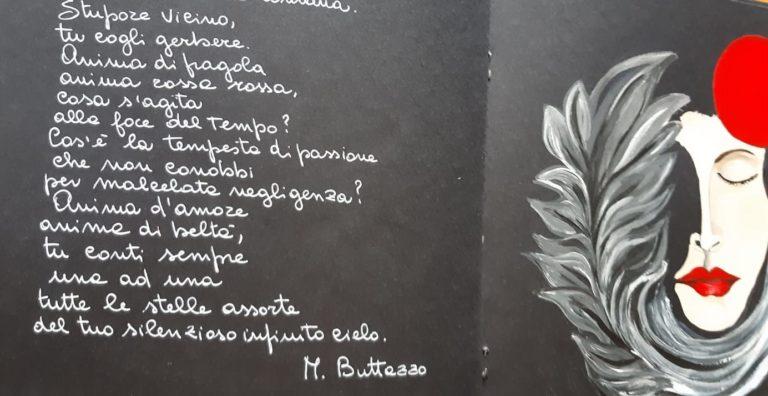 NASCONO I LIBRI D'ARTE DEL BARDO a cura dell'artista Paola Scialpi e da un'idea di Donato Di Poce. Si parte con i versi di Marcello Buttazzo