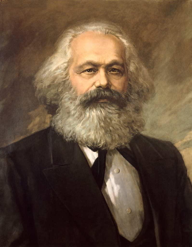 P. Nasarow Karl Marx Nasarov Gereljuk c 1920