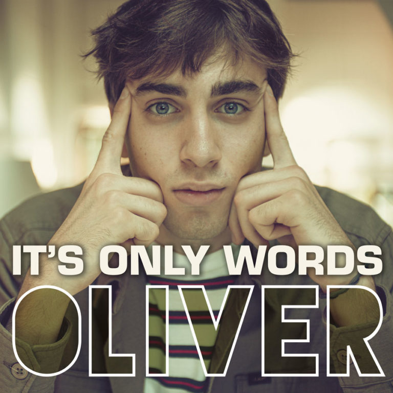 """Oliver: il nuovo singolo e video """"It's only words"""""""