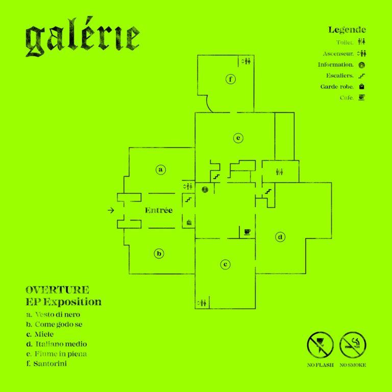 Gli Overture hanno pubblicato il loro primo EP, Galérie
