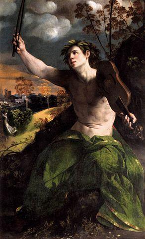 Apollo e Dafne, Dosso Dossi