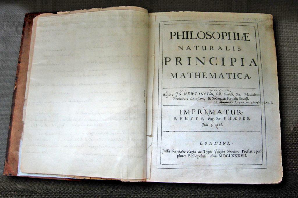 Isaac Newton - Philosophiae Naturalis Principia Mathematica
