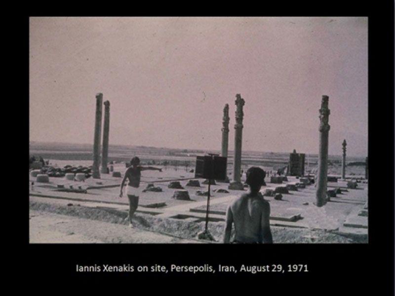 Persepolis - Iannis Xenakis