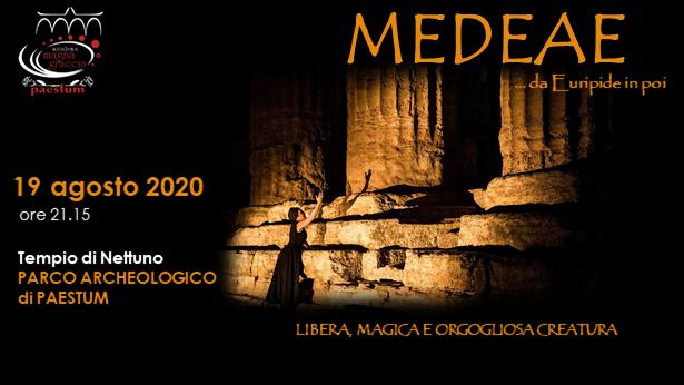 "MEDEAE… da Euripide in poi"" il teatro classico in scena a Paestum"
