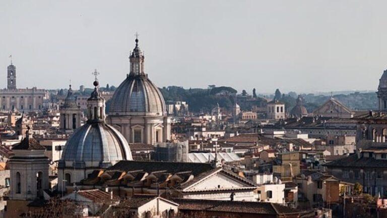 LE CUPOLE DI ROMA: UNA VISITA COL NASO ALL'INSÙ