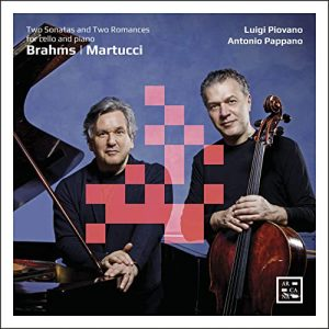 Brahms   Martucci Two Sonatas and Two Romances for cello and piano