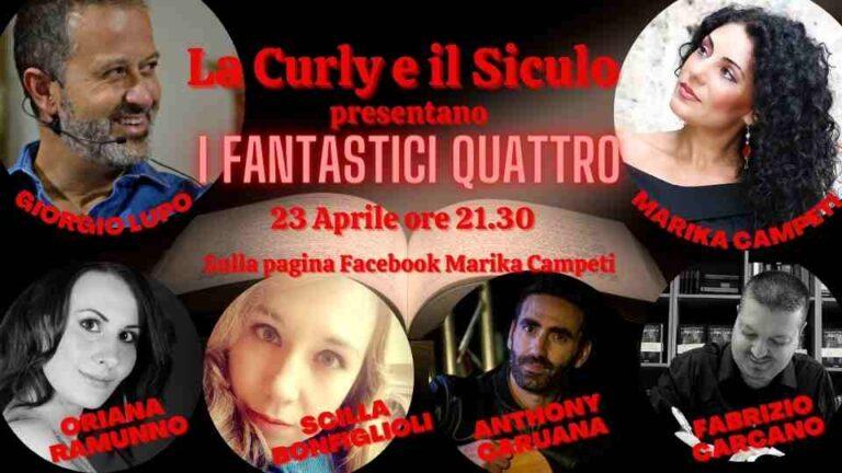 Marika Campeti e Giorgio Lupo per la giornata mondiale del libro