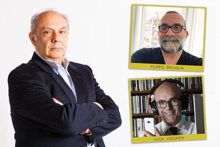 """FILIPPO BROGLIA E LUCA VISCARDI sono i nuovi ospiti del programma """"STORIE DI MUSICA"""" di Alberto Salerno"""