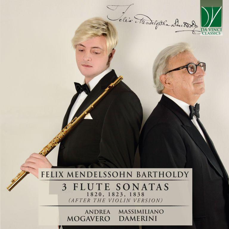 Mendelssohn: 3 Flute Sonatas 1820, 1823, 1838  (Da Vinci Publishing)