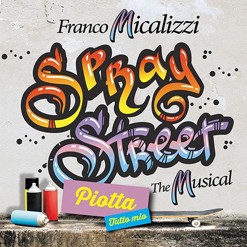 """Disponibile in radio """"TUTTO MIO"""" il brano cantato dal PIOTTA, anticipazione dal progetto """"SPRAY STREET"""" di FRANCO MICALIZZI,"""