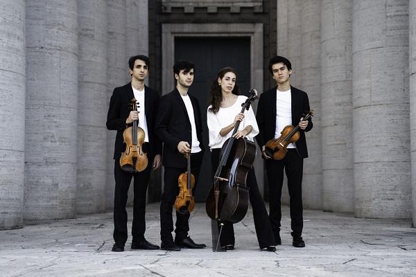 QUARTETTO EOS. Quattro pluripremiati talenti italiani under 25 sulle orme di Mozart, l'enfant prodige.